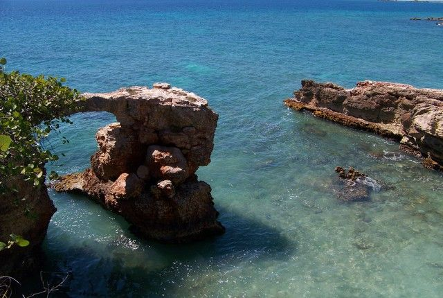 Five years ago, my friends and I found a secret beach near the Cabo Rojo Lighthouse. To this day, we've never seen anyone else there.  Ignore the beach's misnomer—Bahia Sucia (dirty bay)—and plan on an 8 a.m. to 8 p.m. outing to this natural extravaganza.  From the azure water, hike up to the lig...