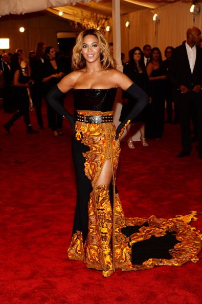 Beyonce Knowles  2013 Met Gala in New York May 6 2013