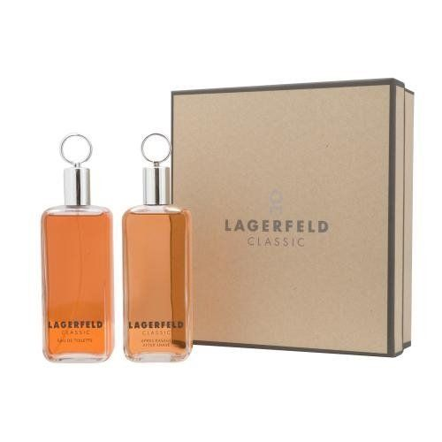 LAGERFELD by Karl Lagerfeld Cologne Gift Set for Men (EDT SPRAY 4.2 OZ & AFTERSHAVE 4.2 OZ) by Karl Lagerfeld. $56.76. Recommended Use: evening. Concentration: Eau De Toilette. Size: -. Year Introduced: 1978. 100 % Genuine Fragrance.. 100% Authentic LAGERFELD by Karl Lagerfeld Cologne Gift Set for Men (EDT SPRAY 4.2 OZ & AFTERSHAVE 4.2 OZ). Manufactured by the design house of Karl Lagerfeld. LAGERFELD for MEN possesses a blend of warm spices and tobacco blend with mus...