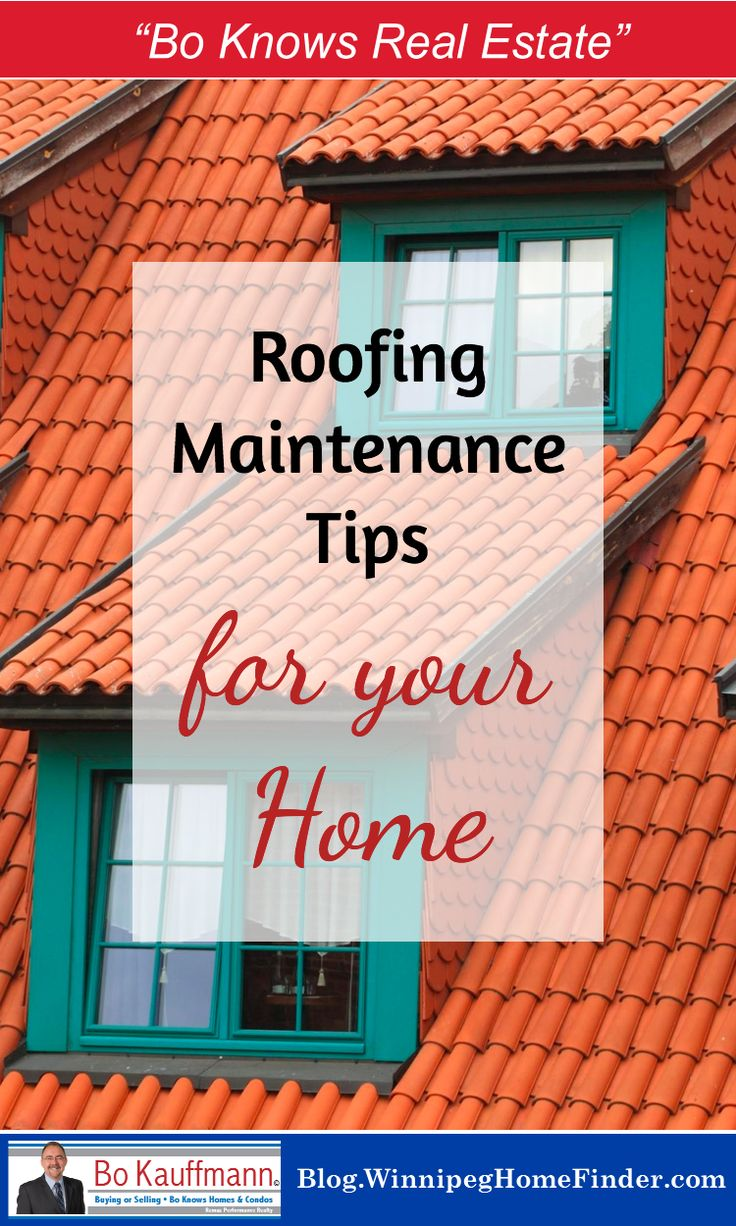 Best 25 residential roofing ideas on pinterest roofing materials roof types and types of - Important tips roof maintenance ...