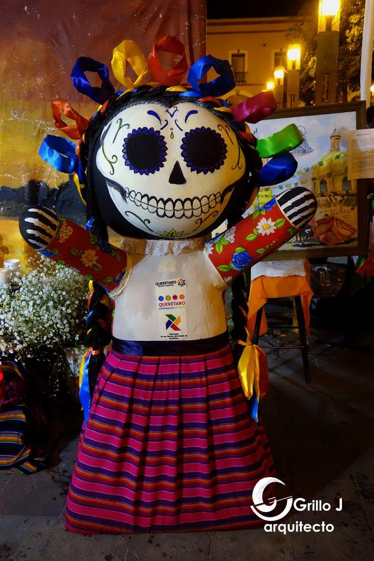 Muñecas artesanales, Amealco, Día de Muertos, Querétaro, Méx