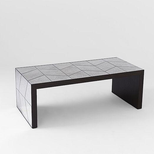 Herringbone Mirror Coffee Table | West Elm $499