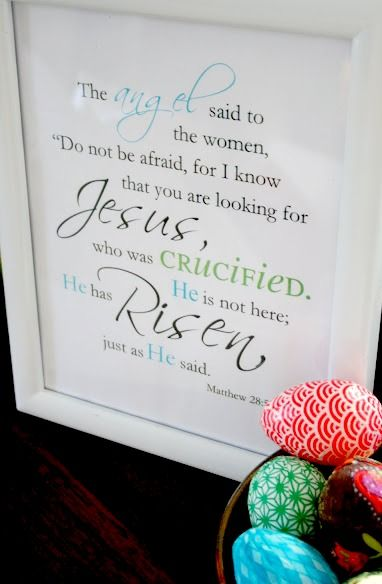 One Dog Woof: He Is Risen, free printable