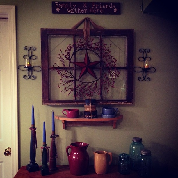 Bybee Pottery And Old Window Primitive Do It Yourself