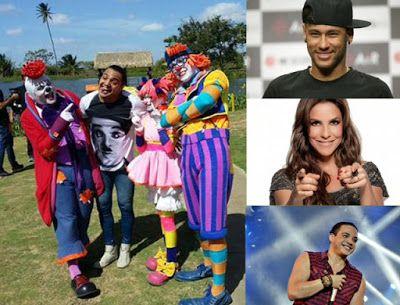 """♥ """"A Dança do Ganso"""" : Neymar, Ivete Sangalo e Turma da Pakaraka fazem coreografia do novo Hit do Verão - clipe do Tirullipa ♥   http://paulabarrozo.blogspot.com.br/2016/01/danca-do-ganso-neymar-ivete-sangalo-e.html"""
