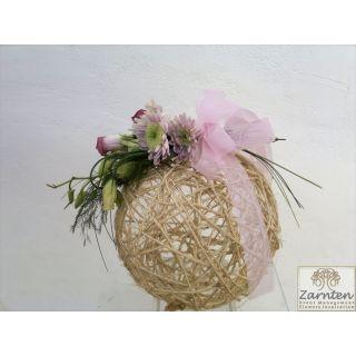 Μπάλα από τζίβα για διακόσμηση γάμου