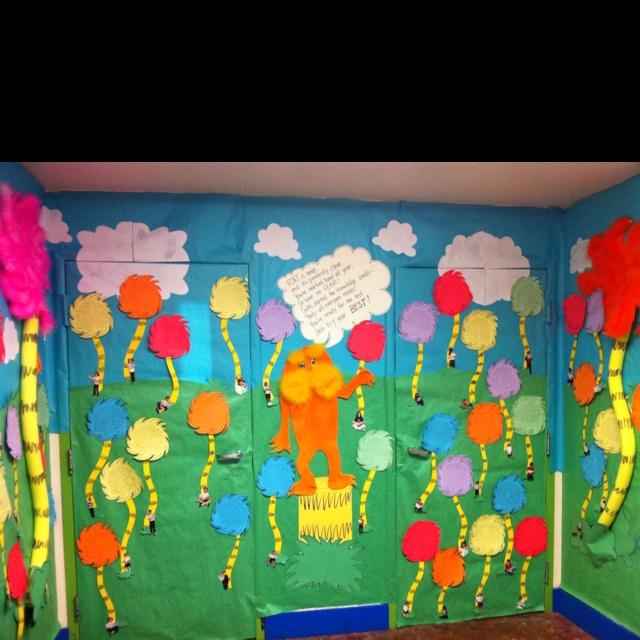 Lorax Classroom Decor : Lorax decorations classroom decor pinterest