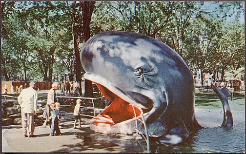 Jonas whale jardin des merveilles parc lafontaine 1960 for Le jardin des merveilles streaming