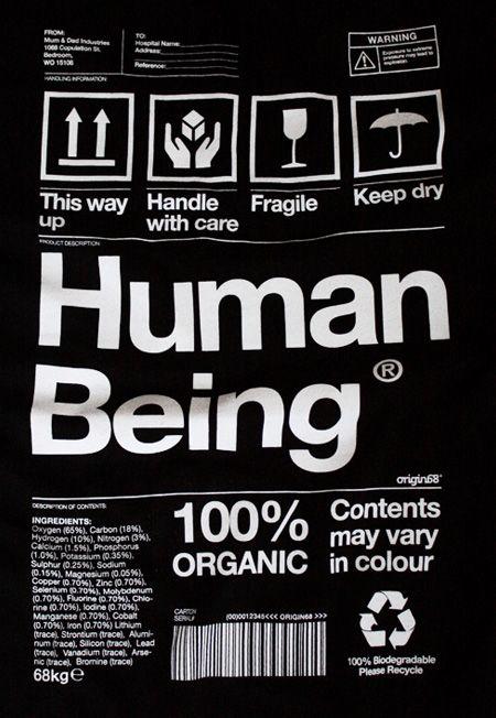 Human Being.