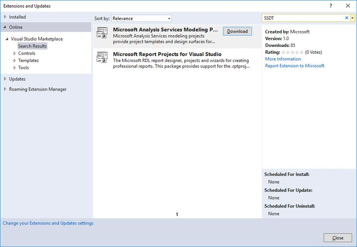 Introducing SQL Server Data Tools for Analysis and Reporting Services for Visual Studio 2017  https://blogs.msdn.microsoft.com/analysisservices/2017/03/08/introducing-sql-server-data-tools-for-analysis-and-reporting-services-for-visual-studio-2017/