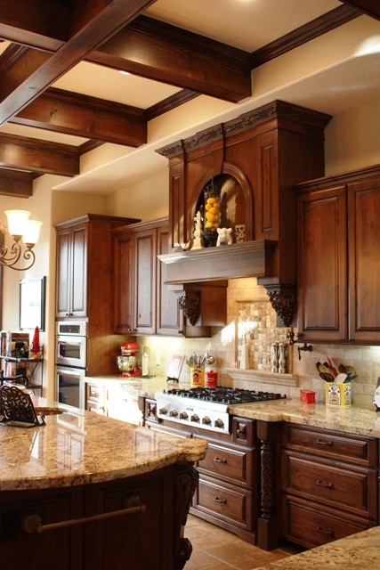 an old world kitchen we designed for some our best clients wwwevermonhomes - Old World Kitchen Cabinets