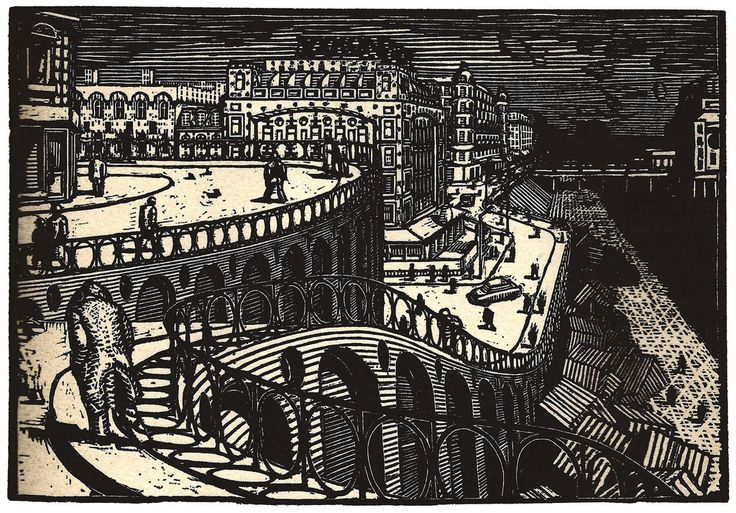 Apocalyptic Woodcuts, Etchings and Litographs by Palle Nielson