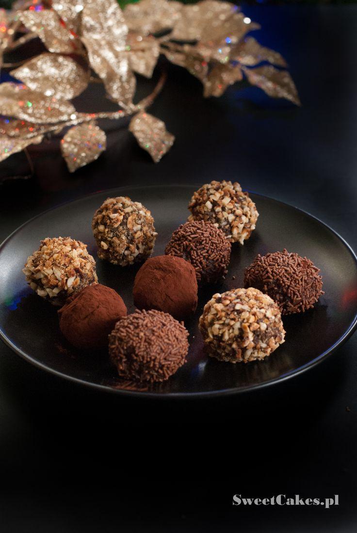 trufle czekoladowe  chocolate truffles  Chocolate truffles