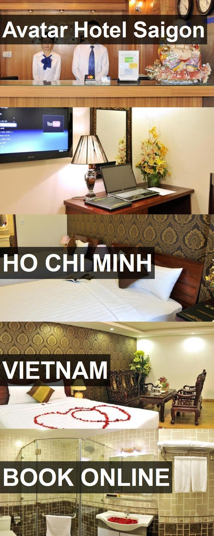 Hotel Avatar Hotel Saigon in Ho Chi Minh, Vietnam. For more information, photos, reviews and best prices please follow the link. #Vietnam #HoChiMinh #AvatarHotelSaigon #hotel #travel #vacation
