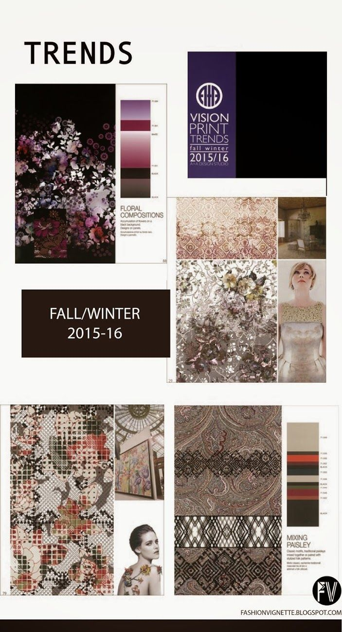 Trends // A+A Real Print Trends - A/W 2015-16