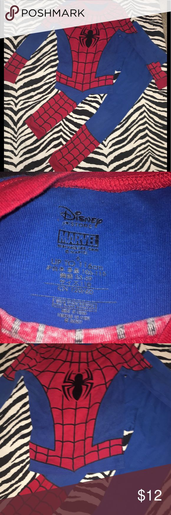 ❤️Kids size 6 Spiderman Pajamas Kids size 6 Spiderman Pajamas Marvel Pajamas Pajama Sets