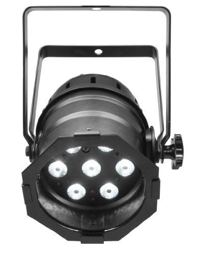 Chauvet LED Par 38 Tri-B 7-Channel Par Stage Light- Black by Chauvet. $134.95. Brand new Chauvet LED PAR 38 TRI-B (black housing) 7 channel LED par can stage light with DMX controls  Features:  3 or 7-channel DMX-512 tri-color LED PAR can Operating modes:  3-channel: RGB control  7-channel: RGB, macros, run speed, strobe, automatic/sound, dimmer Static colors and RGB color mixing with or without DMX controller Built-in automated programs via master/slave or DMX ...