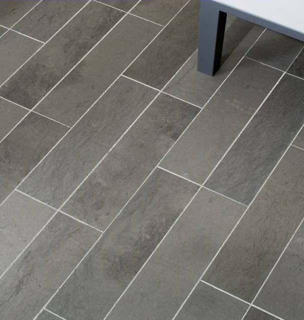 Grey Baltimore Limestone 9 x 18 Kitchen/Bathroom/Entryway flooring