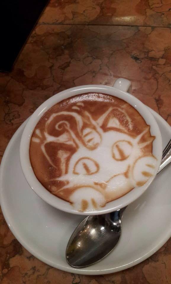 Pokemon latte