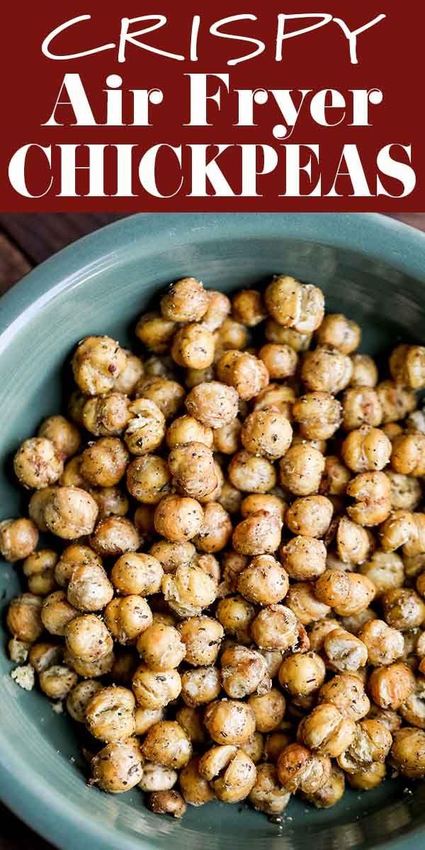 Crispy Air Fryer Chickpeas Recipe Simplyrecipes Com Recipe Air Fryer Recipes Healthy Savory Snacks Recipes