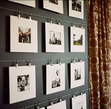 Diy Decor How To Hang Pictures With Style Accrocher Des