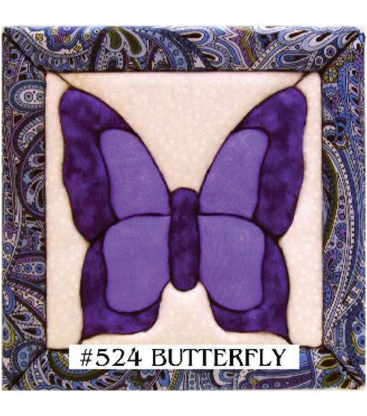 "Butterfly Quilt Magic Kit-6""X6""Butterfly Quilt Magic Kit-6""X6"","