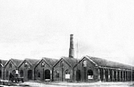 Sandnes Garn, de første bygningene #fabrikk #sandnesgarn
