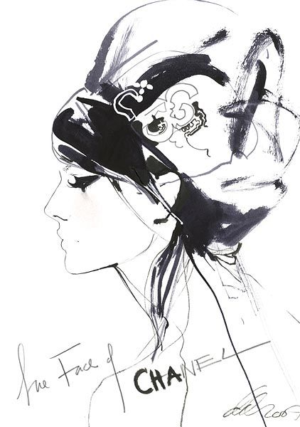 Who doesn't love a good fashion illustration? Can't get better than David Downton.