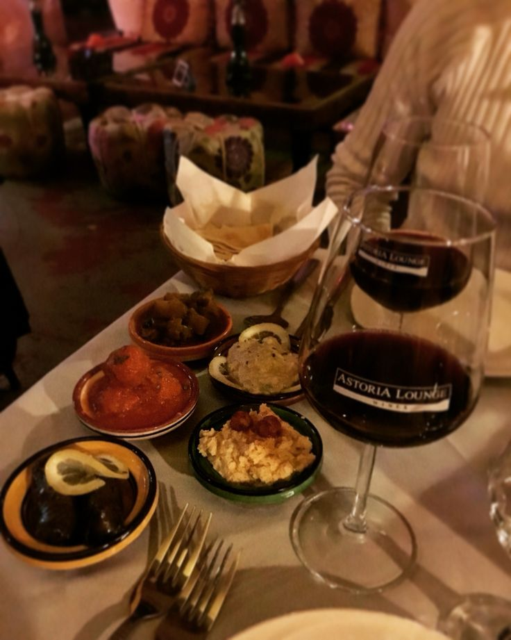 Moroco food and wine in Milano, Italy.