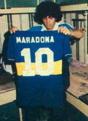 Boca Juniors - 1981 - Maradona 10