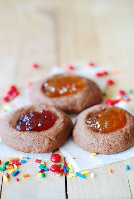 Easy thumbprint cookies recipe - Christmas cookies by JuliasAlbum.com, via Flickr