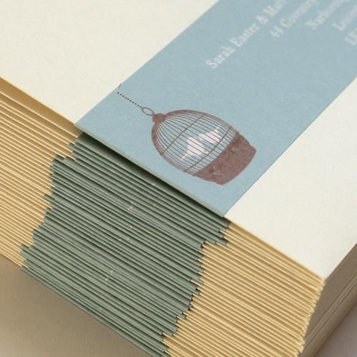 birdcage #wedding #invitations by Studio Seed