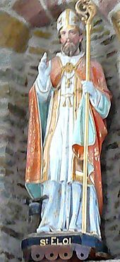 St Eloi of Noyon-he is best known for being the patron saint of horses and cattle and those who work with them
