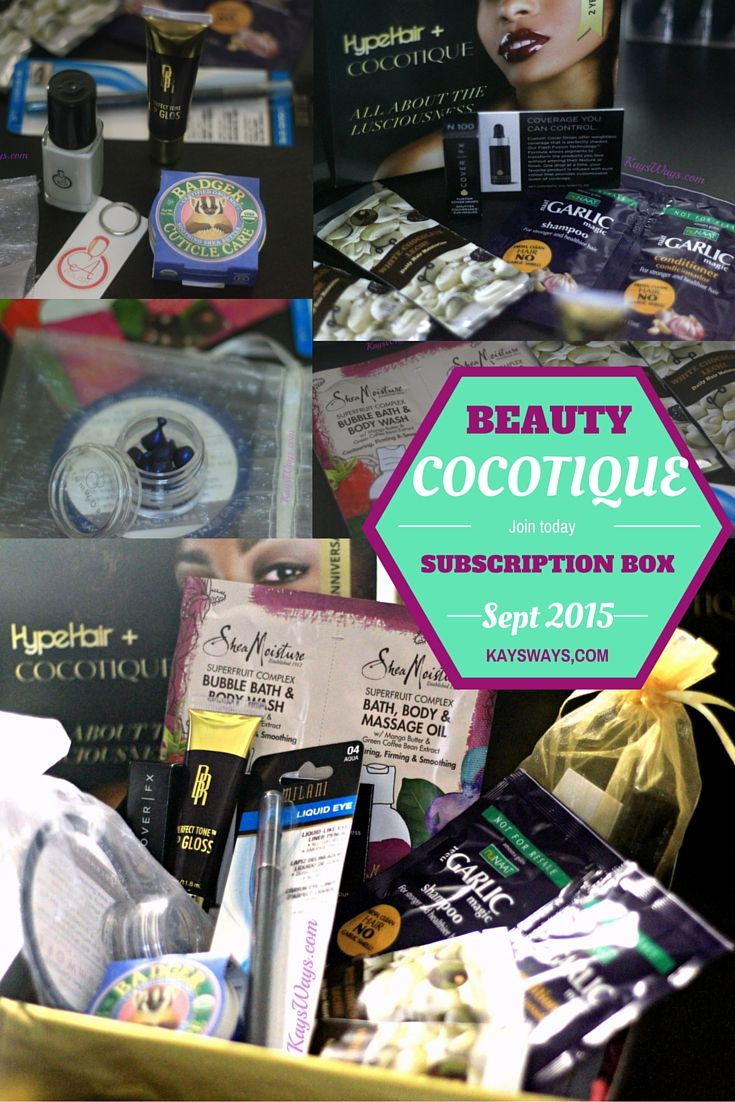 COCOTIQUE+ Hype Hair 2nd Anniversary Beauty Subscription Box