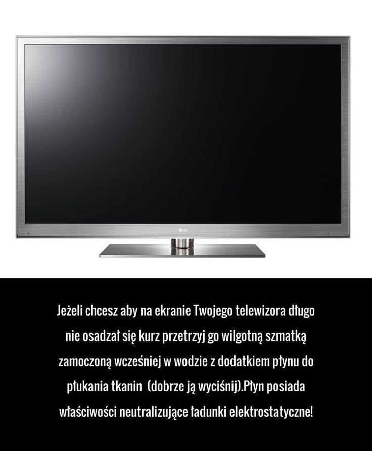 Zabezpiecz swój telewizor przed kurzem