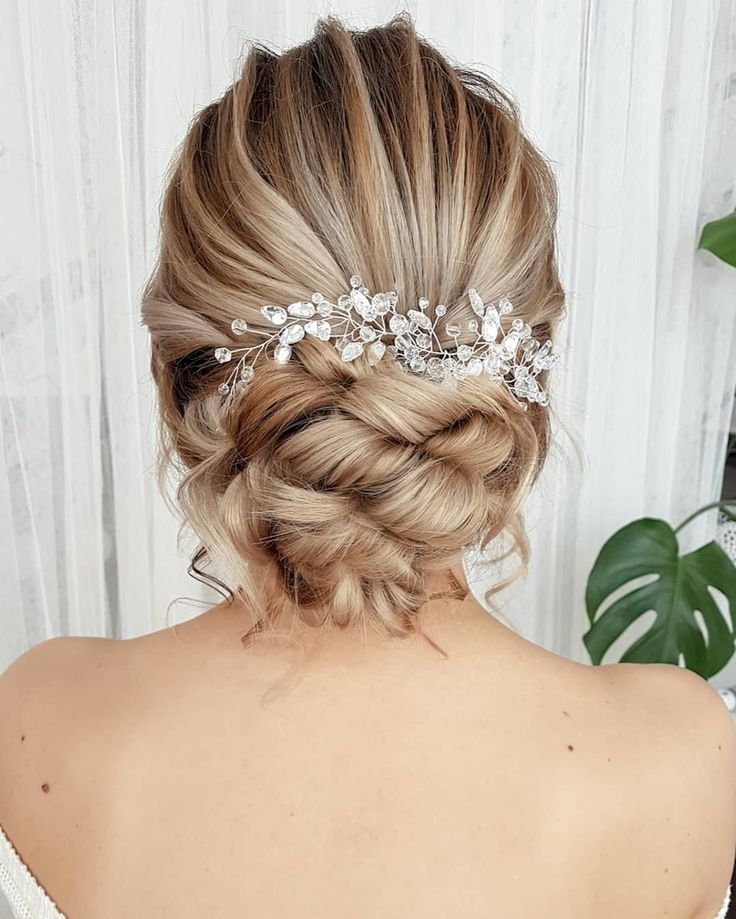 30 beauty hairstyles wedding updo for you - ibaz