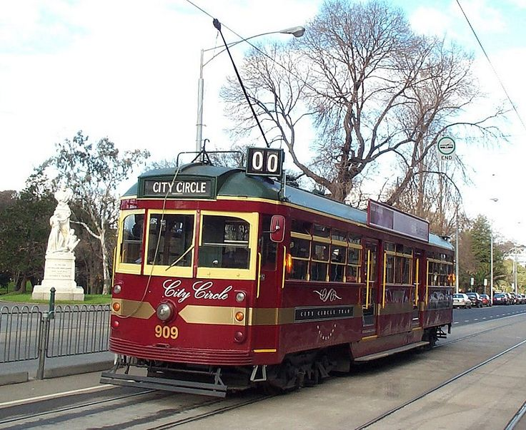 cc909.jpg (1012×830) Melbourne tram..City Circle