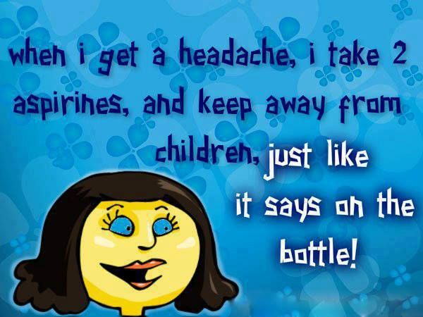 Headache Humor Pinterest
