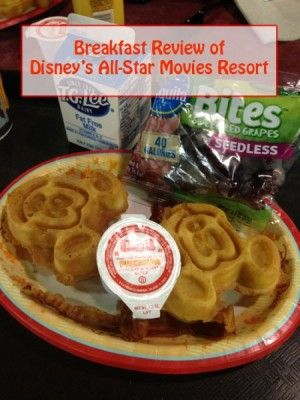Foodie Friday:  Breakfast at Disney's All-Star Movies Resort | http://www.themouseforless.com/blog_world/2015/05/foodie-friday-breakfast-at-disneys-all-star-movies-resort/