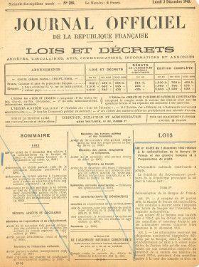 L'Etat nationalise les grandes banques de dépôts françaises en 1946 | Archives & Histoire BNP Paribas