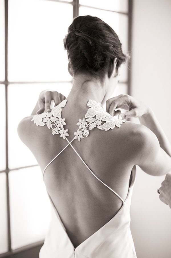 the most stunning back to a dress ever....