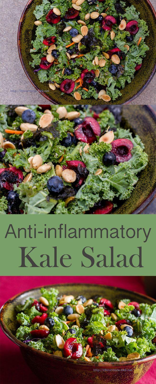 Anti-inflammatory Kale Salad