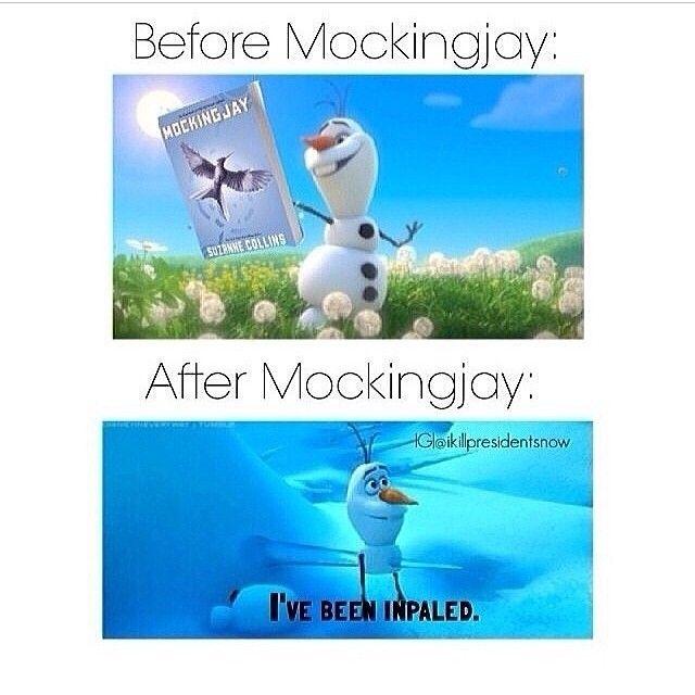 #mockingjay #dead #books #fandoms