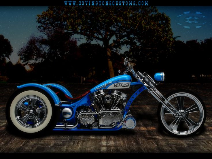 custom motorcycle pictures | Outlaw Custom Trike Motorcycle by ~random667 on deviantART