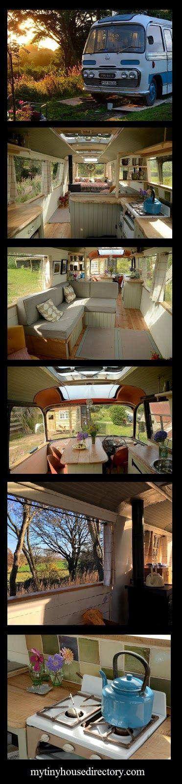 mytinyhousedirectory: Majestic Bus Tiny Home Vacation Rental