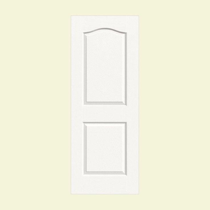 Masonite Textured 2 Panel Arch Top Hollow Core Primed Composite Interior Door Slab 32849 44 28 Doors Interior Hollow Core Interior Doors Arched Interior Doors