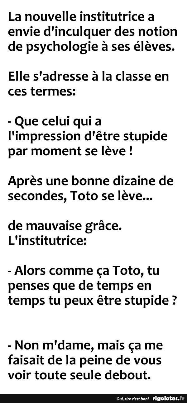 La nouvelle institutrice a envie d'inculquer ... - RIGOLOTES.fr