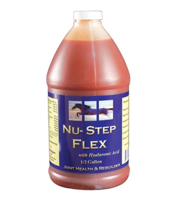 Nu-Step Flex 1/2 Gallon  thickens joint synovial fluids helps prevent stiffnes