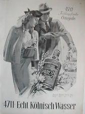 Orig. Zeitungswerbung    4711  Kölnisch Wasser       1939