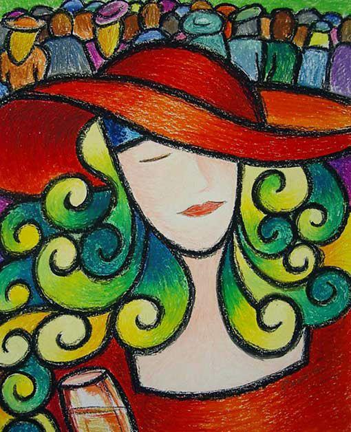 Easy+Oil+Pastel+Ideas | Oil Pastel Drawing Medium: oil pastel
